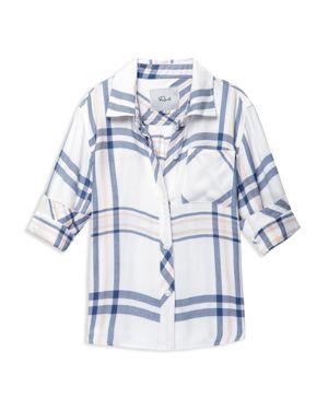 Rails Girls' Hudson Plaid Shirt - Big Kid