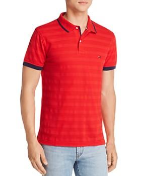 Tommy Hilfiger - Tipped Tonal-Stripe Polo Shirt