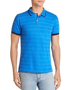 Tommy Hilfiger Tipped Tonal-Stripe Polo Shirt