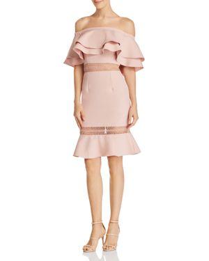 JARLO JAZZMYN OFF-THE-SHOULDER DRESS - 100% EXCLUSIVE