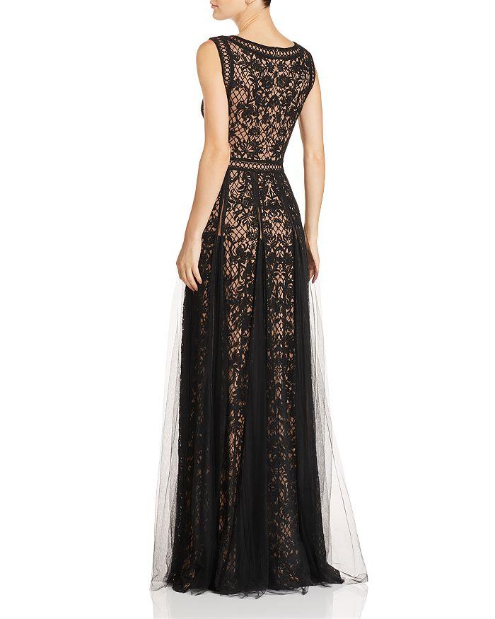 64823c74222c Tadashi Shoji Sleeveless Embroidered-Mesh Gown | Bloomingdale's