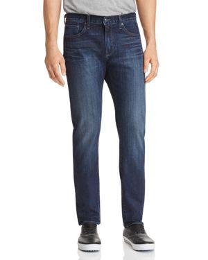S.M.N STUDIO Finn Tapered Slim Jeans In Bowery