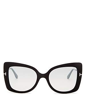 Tom Ford Women's Gianna Mirrored Square Sunglasses, 54mm