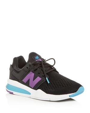 Women'S 247 Tritium Lace Up Sneakers, Black