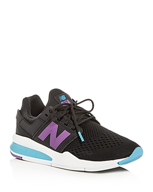 New Balance Women's 247 Tritium Lace Up Sneakers