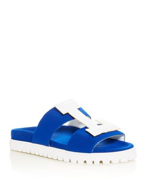 WOMEN'S LA POOL SLIDE SANDALS