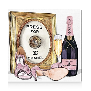 Oliver Gal Champagne Cocktail Canvas Art, 20 x 20