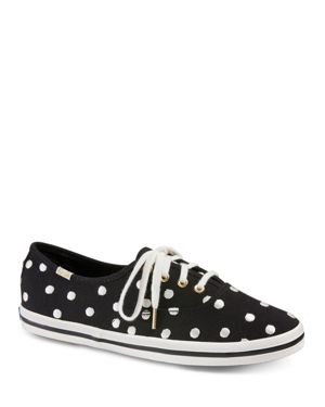 KEDS X KATE SPADE NEW YORK WOMEN'S CANVAS LACE UP SNEAKERS