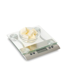 Taylor - Pro 11 Pound Glass Top Kitchen Scale