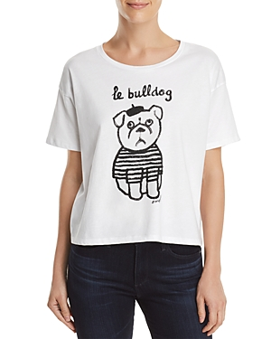 French Connection Le Bulldog Graphic Tee
