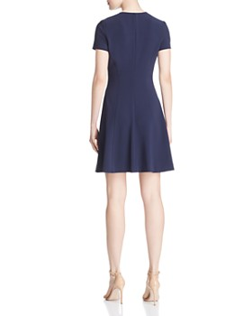 Theory - Modern Seamed Dress