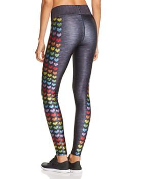 Terez - Love Is Love Rainbow Heart Leggings