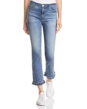 AG - Jodi Crop Skinny-Flare Jeans in Pastoral Plains