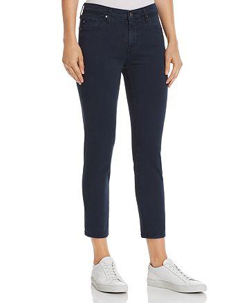 AG - Prima Crop Skinny Jeans in Sulfur Dark Cove