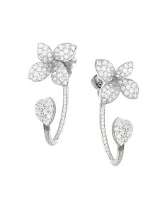 Pasquale Bruni 18K White Gold Giardini Segreti Diamond Ear Jackets - Bloomingdale's_0