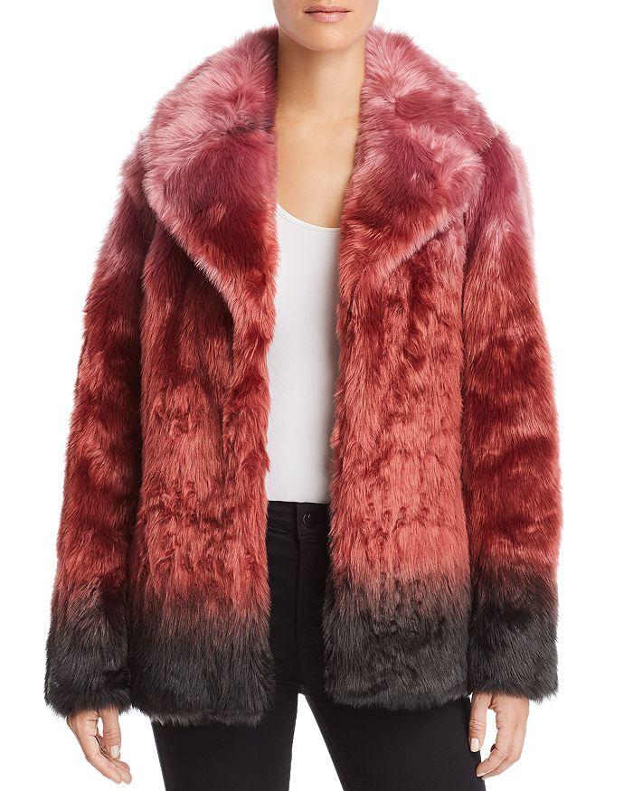 Unreal Fur - Flaming Lips Faux Fur Coat