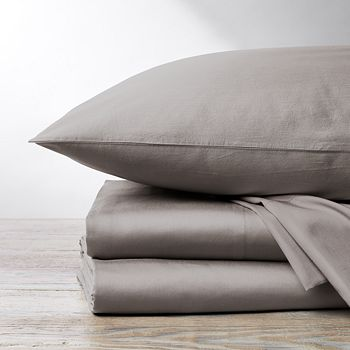 Coyuchi - Organic Cotton Sateen 300TC Sheet Set, Twin