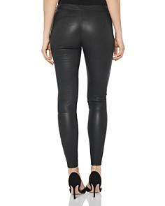 REISS - Goldie Leather Leggings