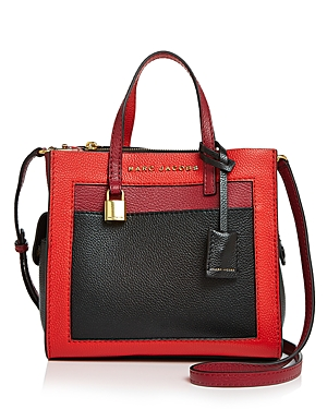 Marc Jacobs Mini Grind Leather Shoulder Bag