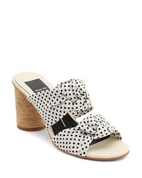 Dolce Vita - Women's Jene Knotted Block Heel Slide Sandals