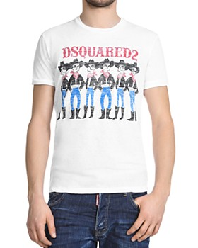 DSQUARED2 - Cartoon Cowboy Graphic Tee