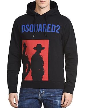 DSQUARED2 Cowboy Graphic Hooded Sweatshirt