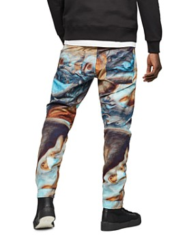 G-STAR RAW - Elwood Slim Fit Moto Jeans in Jupiter