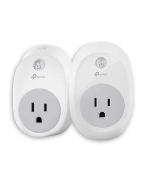 TP-LINK Tp-Link Wi-Fi Smart Plug With Energy Monitoring, Pack Of 2 in White