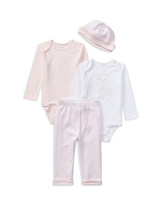Ralph Lauren - Girls' Polo Bear 4-Piece Gift Set - Baby