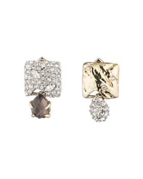 d5ef85446 Alexis Bittar - Mismatched Crystal Cluster Stud Earrings ...