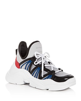 SCHUTZ - Women's Anick Lace Up Wedge Sneakers