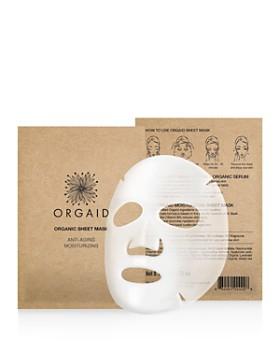 ORGAID - Anti-Aging & Moisturizing Organic Sheet Masks, Set of 4