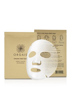 ORGAID - Greek Yogurt & Nourishing Organic Sheet Masks, Set of 4
