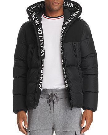 a0c8673e5 Moncler Montclar Logo Trim Down Jacket