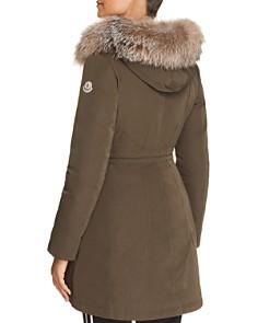 Moncler - Monticole Fur Trim Down Parka