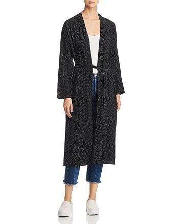 Eileen Fisher - Morse Code Print Kimono Jacket