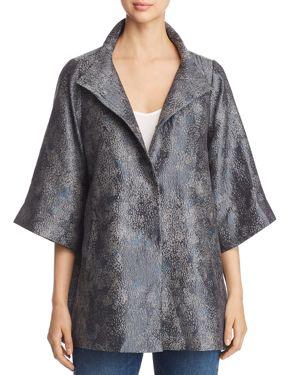 Eileen Fisher Textured Boxy Jacket