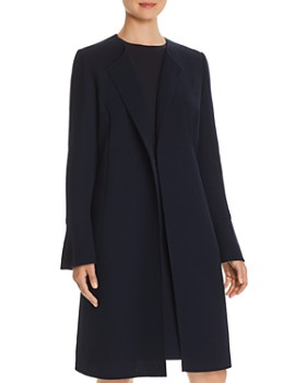 Lafayette 148 New York - Russo Textured Wool Long Jacket