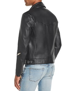 Paul Smith - Leather Biker Jacket