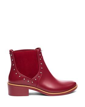 Bernardo - Peyton Studded Rubber Rain Ankle Boots