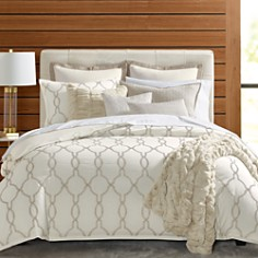 Hudson Park Collection Seed Stitch Trellis Bedding Collection - 100% Exclusive - Bloomingdale's_0