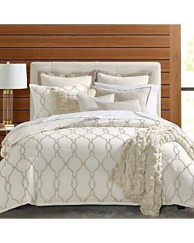Hudson Park Collection - Seed Stitch Trellis Bedding Collection - 100% Exclusive