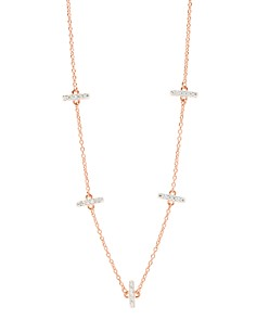 Freida Rothman - Radiance Station Chain Necklace, 16""