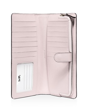 COACH - Calf Leather Skinny Wallet