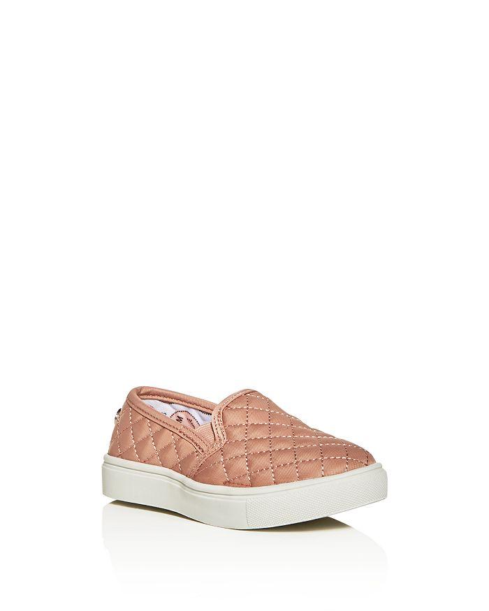 152e59dd682 STEVE MADDEN Girls  TEcntrcq Quilted Slip-On Sneakers - Toddler ...