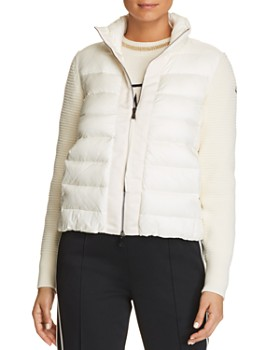 Moncler - Mixed Media Puffer Vest Jacket
