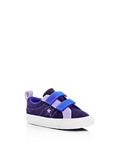 Converse - Unisex Chuck Taylor All Star Color-Block Suede Sneakers - Walker, Toddler, Little Kid, Big Kid