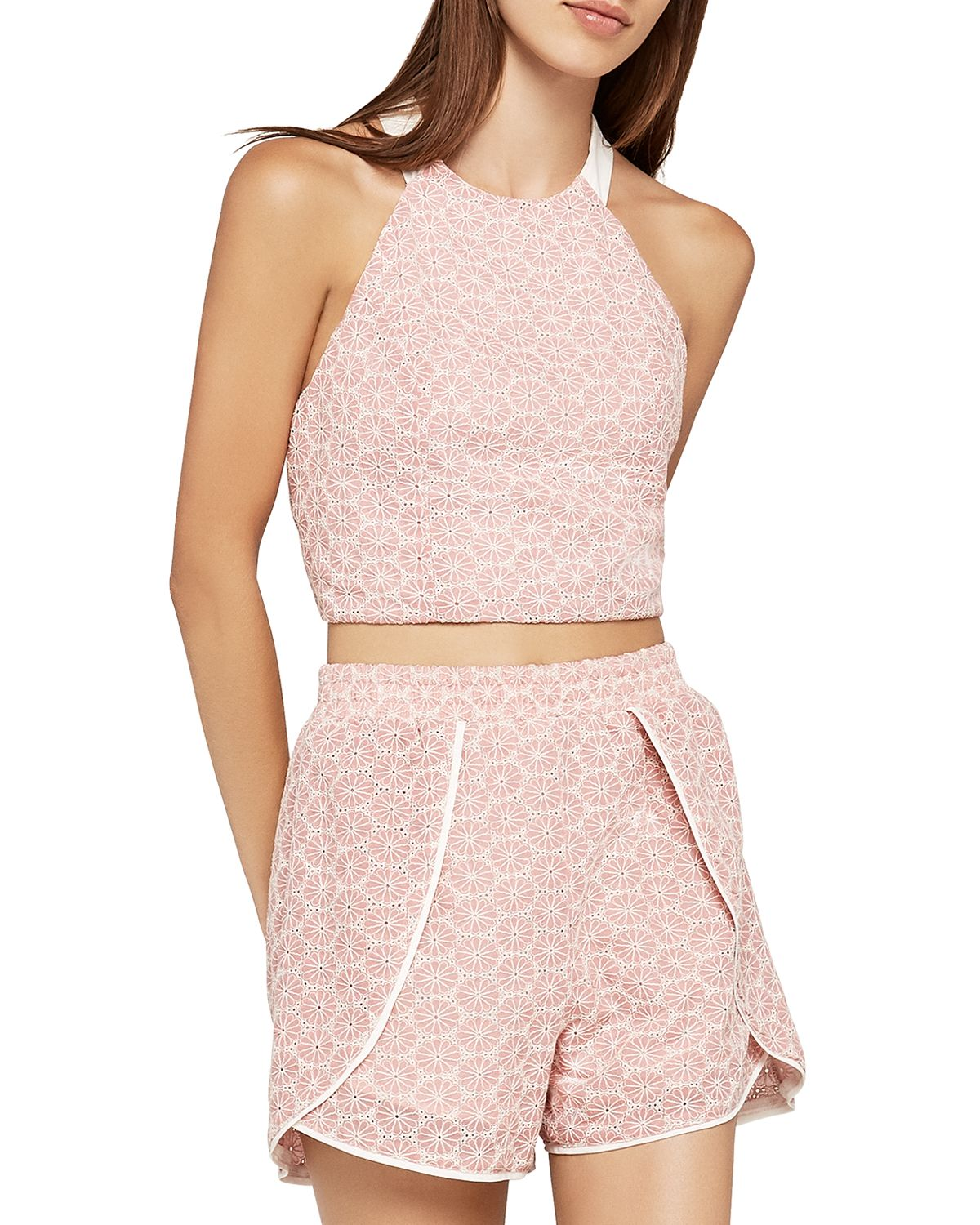 Daisy Eyelet Cropped Top by Bcb Generation