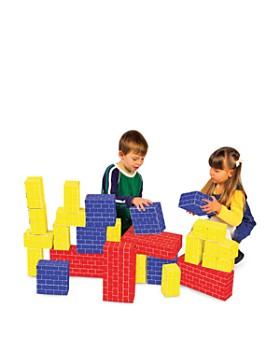 Melissa & Doug - Deluxe Jumbo Cardboard Blocks - Ages 2+