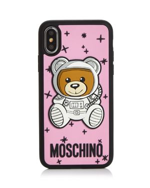 Astro Bear Iphone X Case in Pink